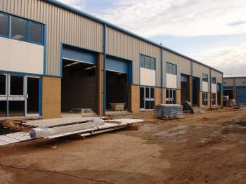 Civil engineering service new build industrial